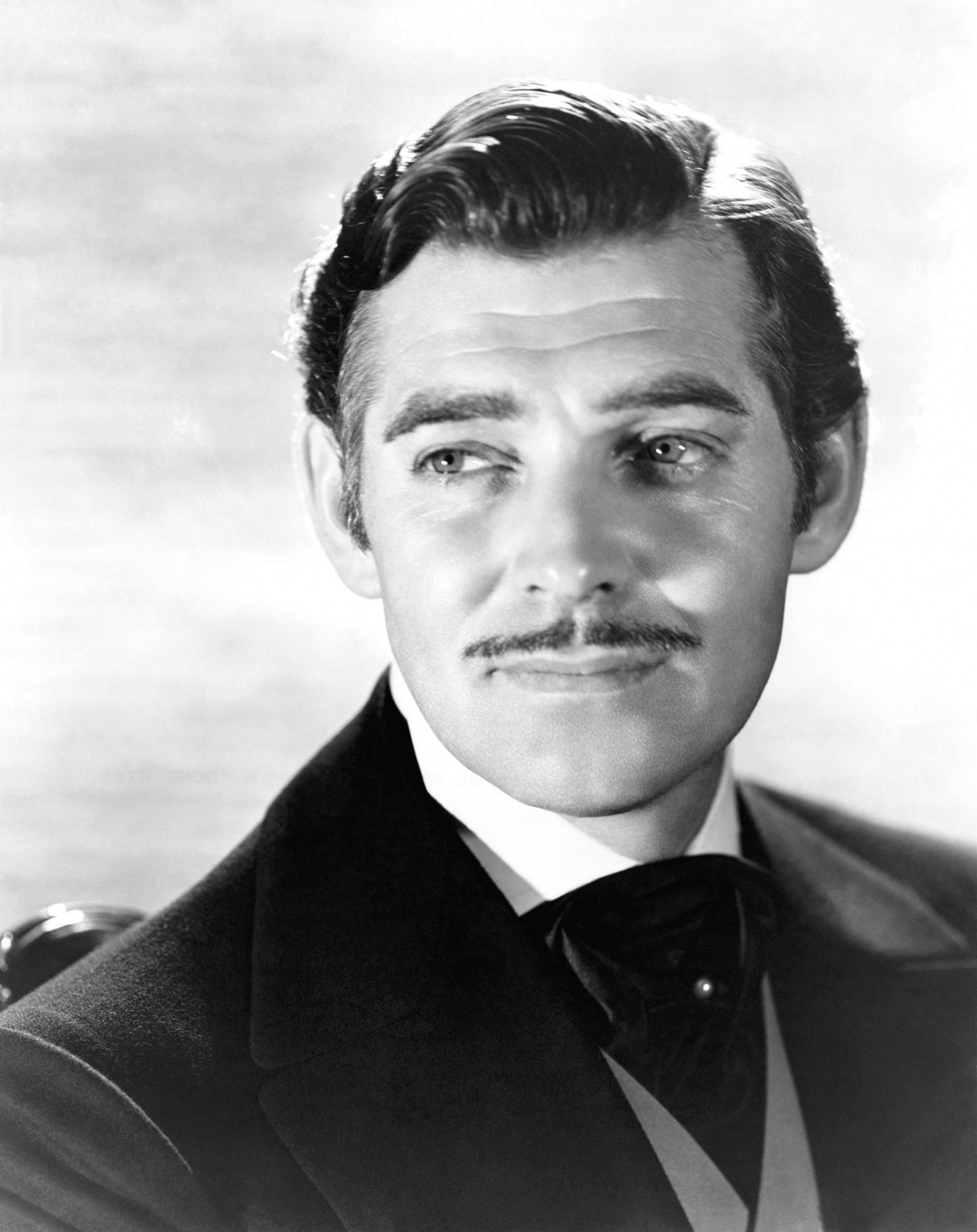 Példaképek: Clark Gable