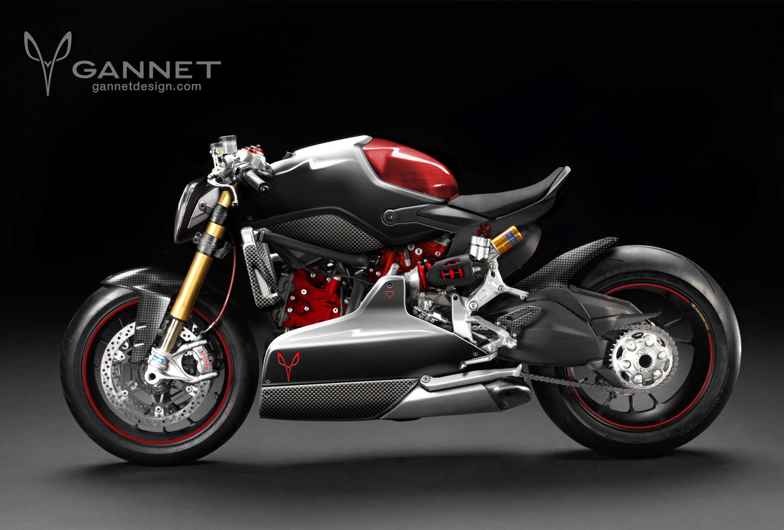 Ducati 1199 Panigale Cafe Fighter