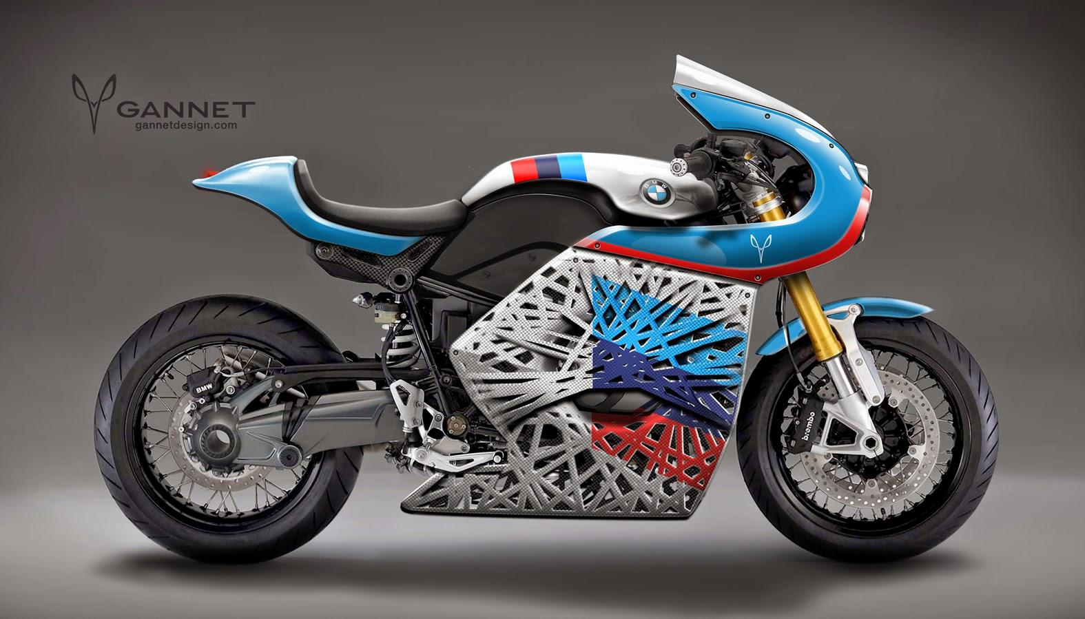 BMW R-NineT by Gannet Design