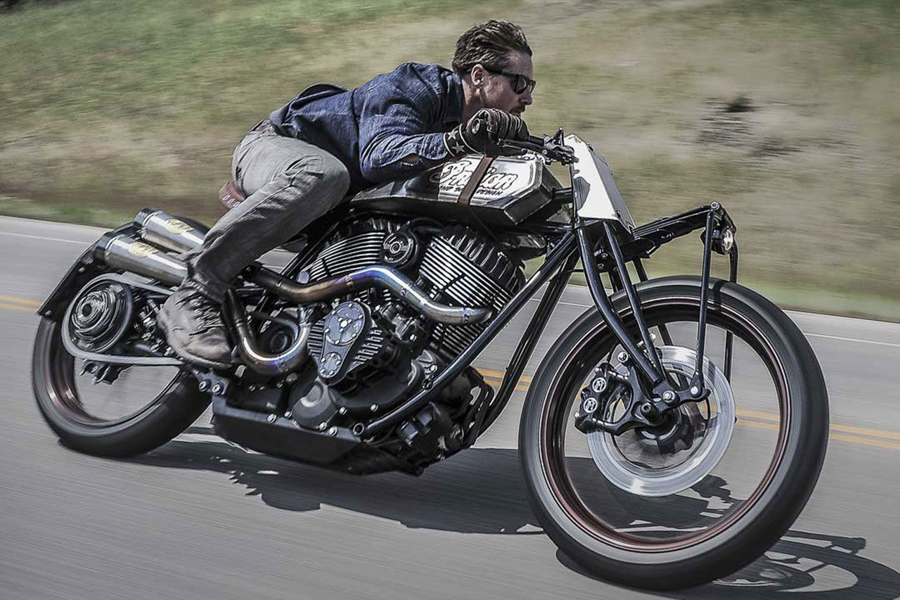 Roland Sands x Indian 'Track Chief'