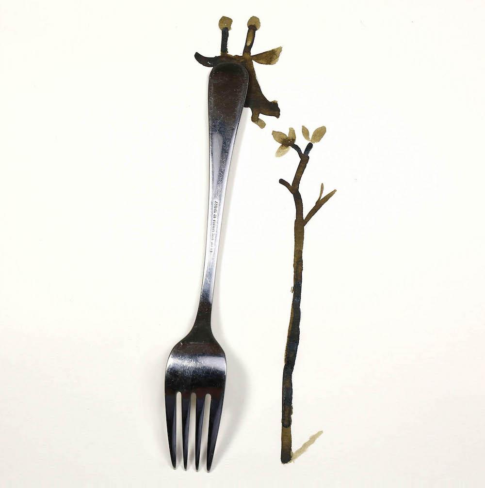 Giraffe by Christoph Niemann
