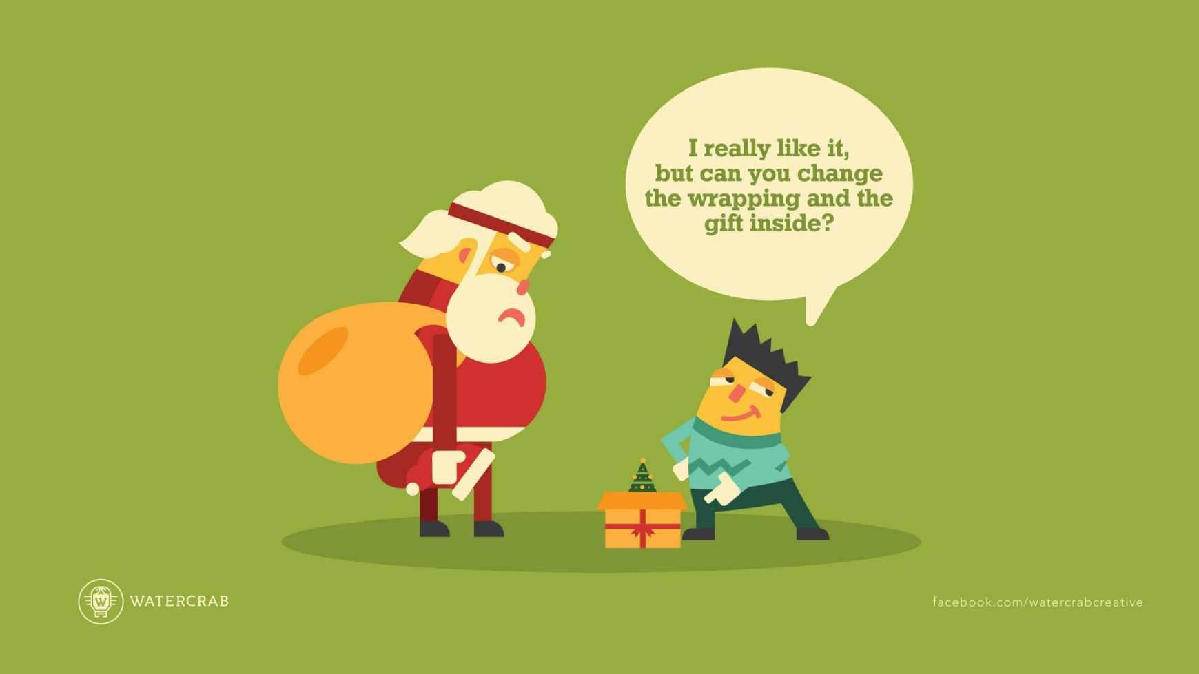 Tényleg tetszik, de ki tudod cserélni a csomagolást és az ajándékot?