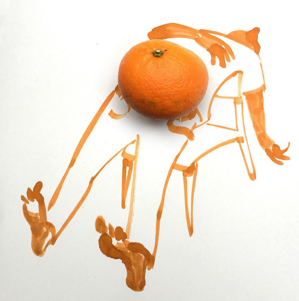 Tangerine by Christoph Niemann