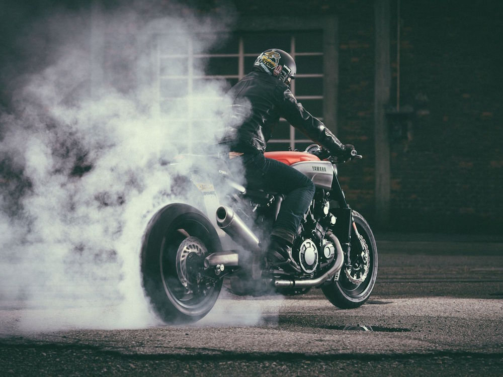 Yamaha VMAX Infrared by JvB Moto