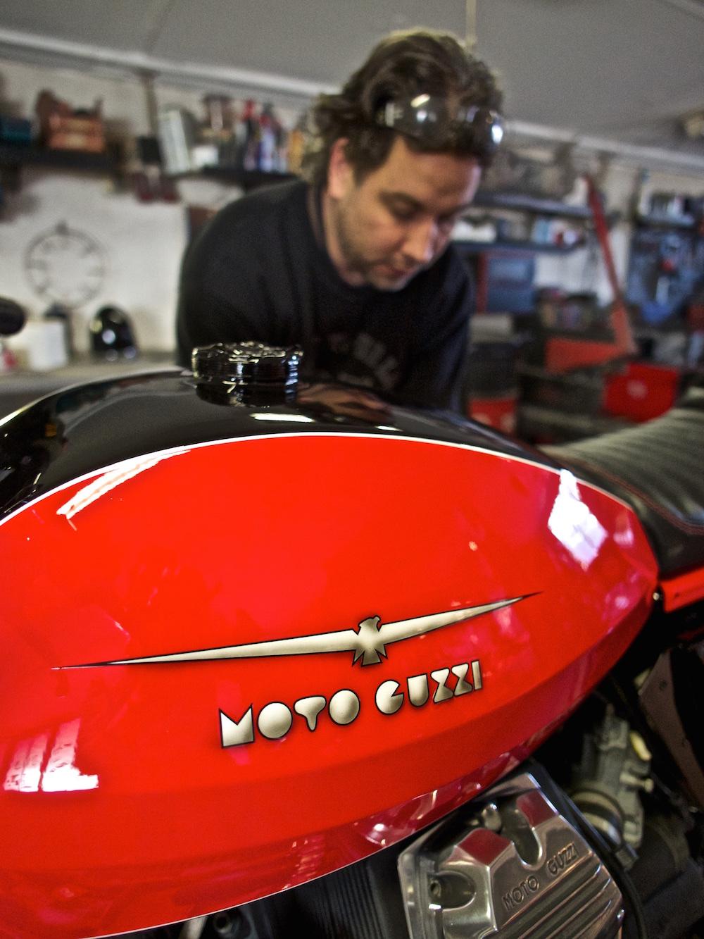 Moto Guzzi by Sapka Művek.
