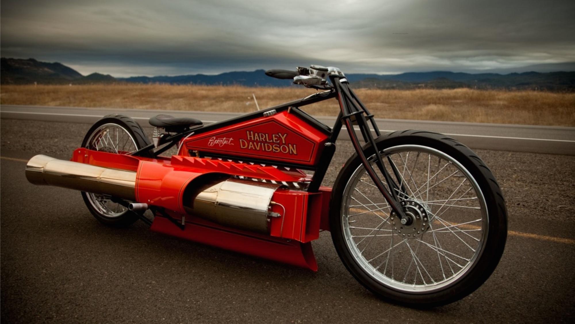 H-D SportJet by Robert Maddox