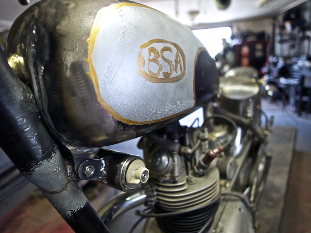 BSA Dirt Tracker