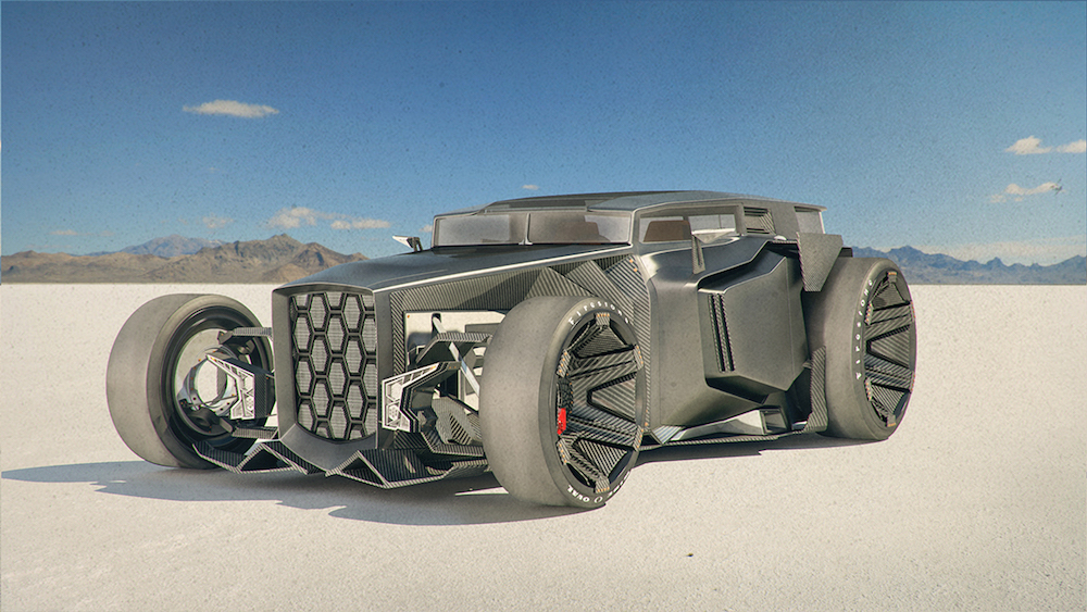 Lamborghini Rat Rod by Jans Slapin