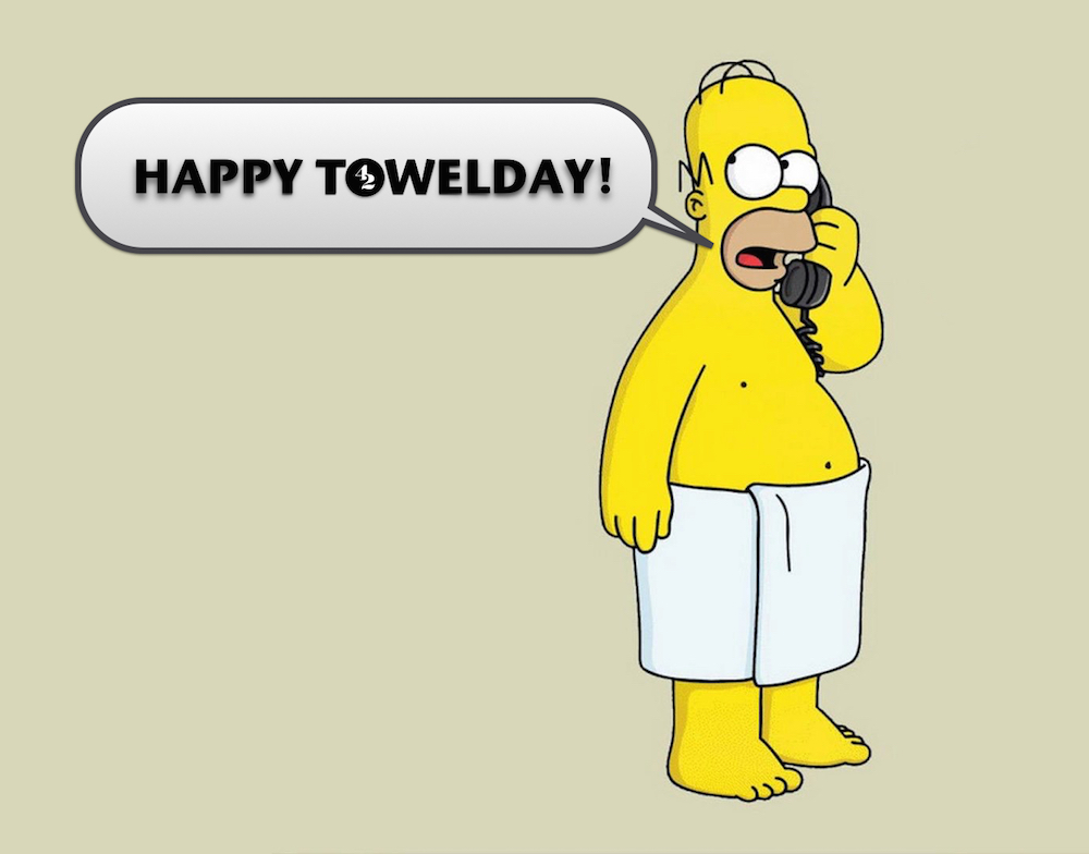 Towel Day 2015