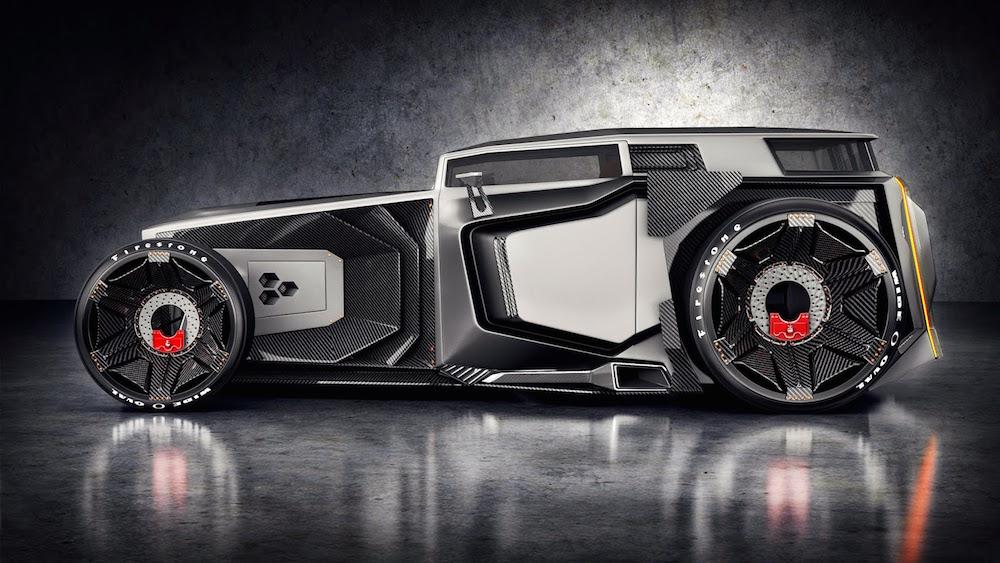 Lamborghini Rat Rod by Jans Slapin