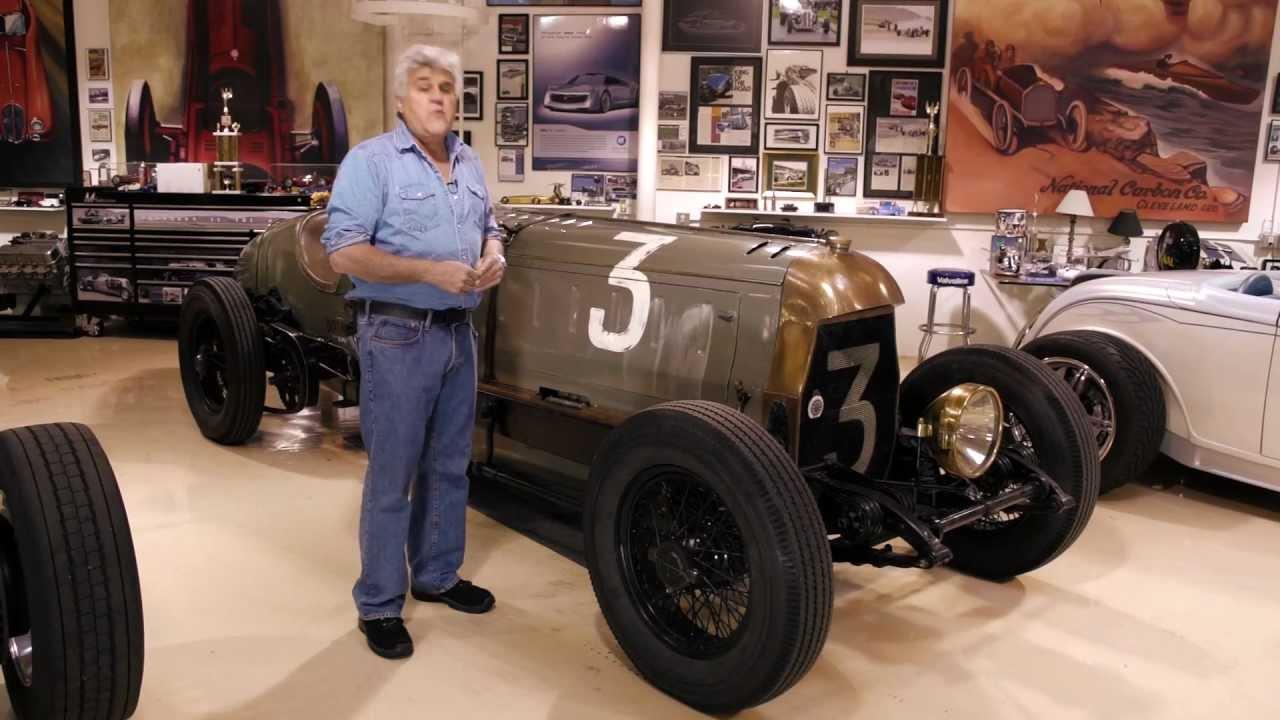 Jay Leno és a Fiat Botafogo Special 1917