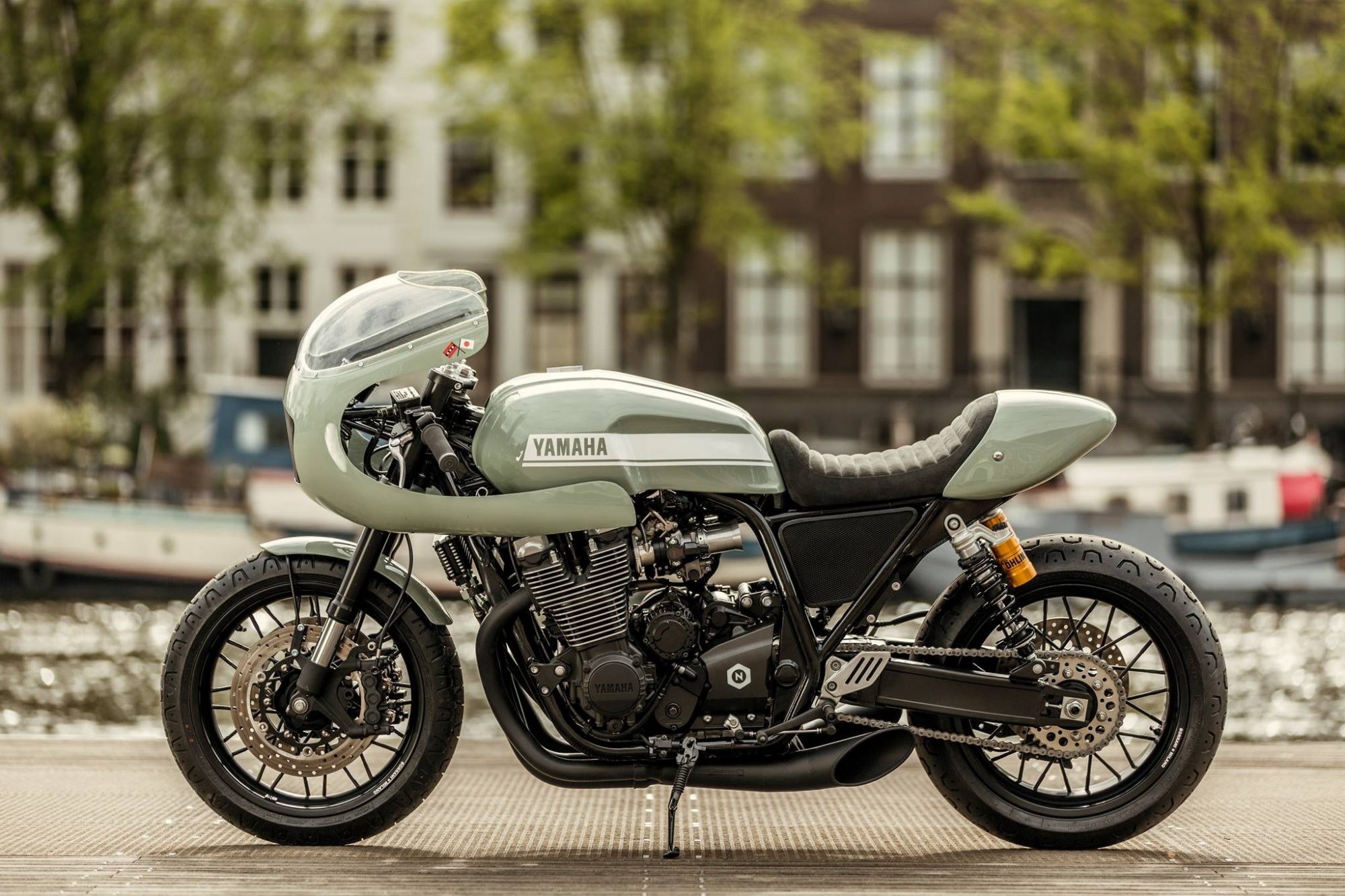 Yamaha XJR1300 'Botafogo-N' by Numbnut Motorcycles