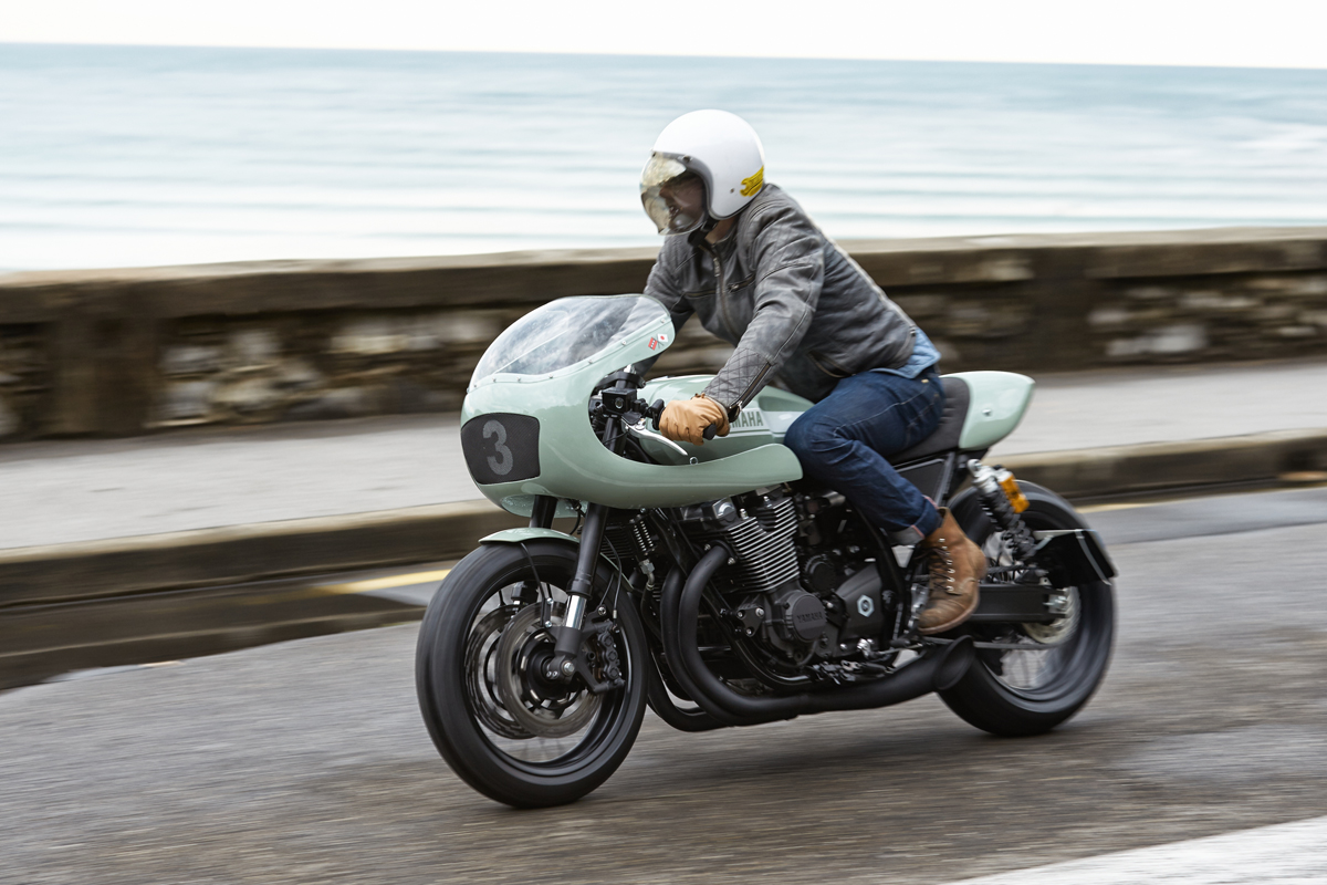 Yamaha XJR1300 'Botafogo-N' by Numbnut Motorcycles
