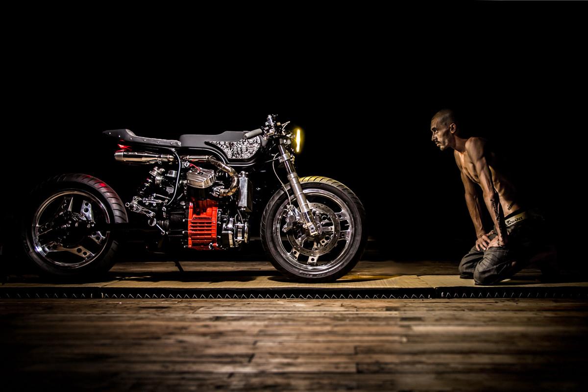 Honda CX500 by Ed Turner Motocycles