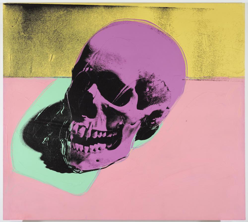 Skull by Warhol