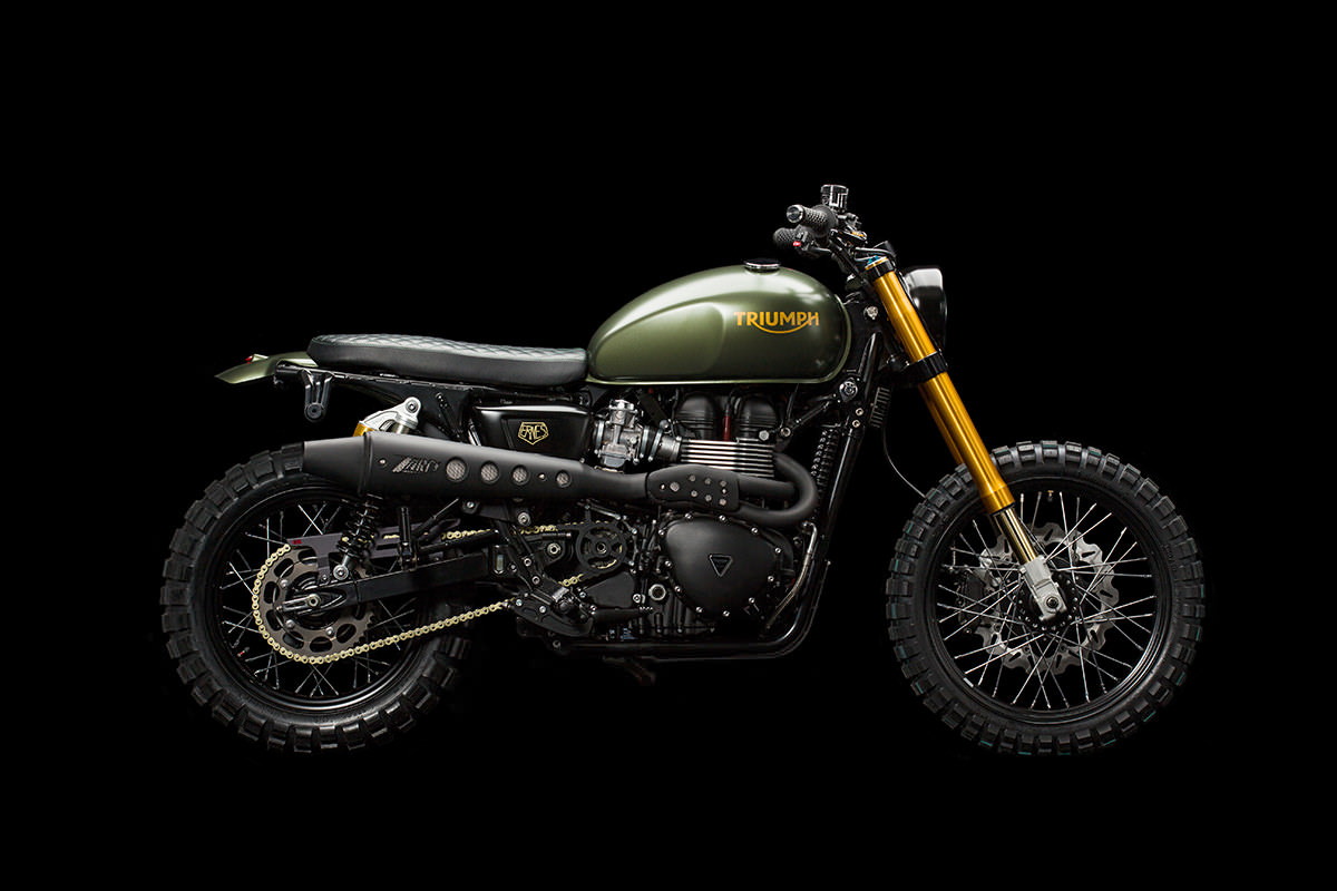 Triumph Scrambler - The Hunter