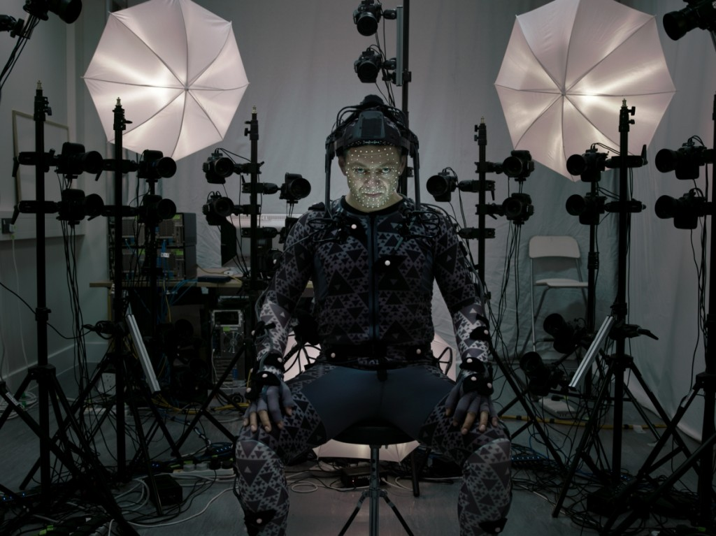 Andy Serkins motion capture