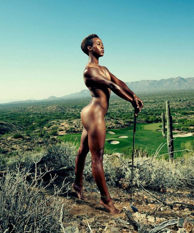 Sadena Parks, golf