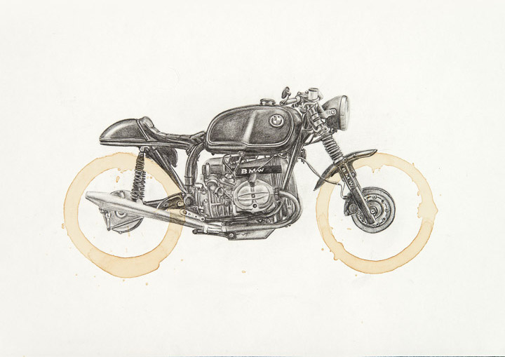 Bmw R100 by Carter Asmann
