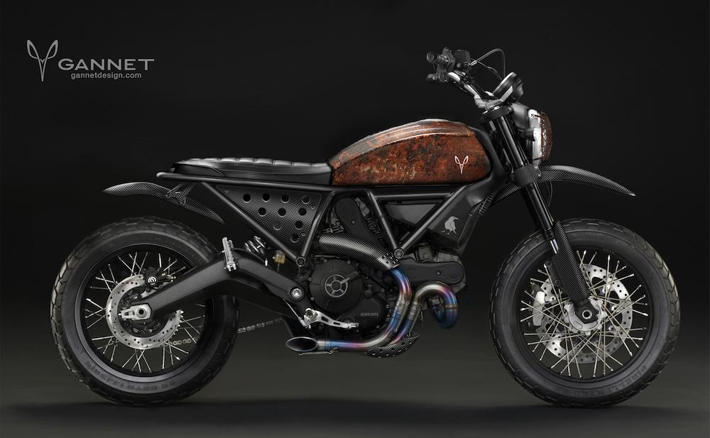 Ducati Scrambler Concept by Gannet Design