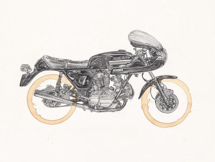 Ducati 900ss by Carter Asmann