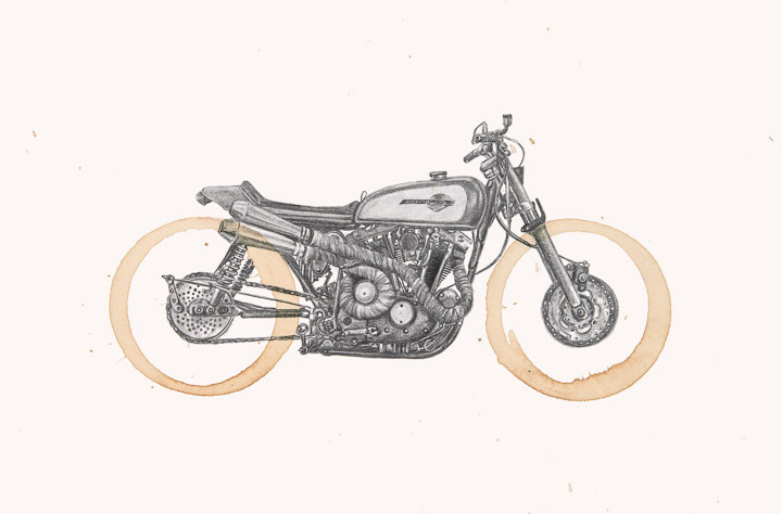 Harley XL100 by Carter Asmann