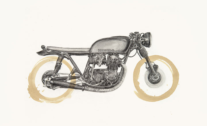 Honda CB550 by Carter Asmann