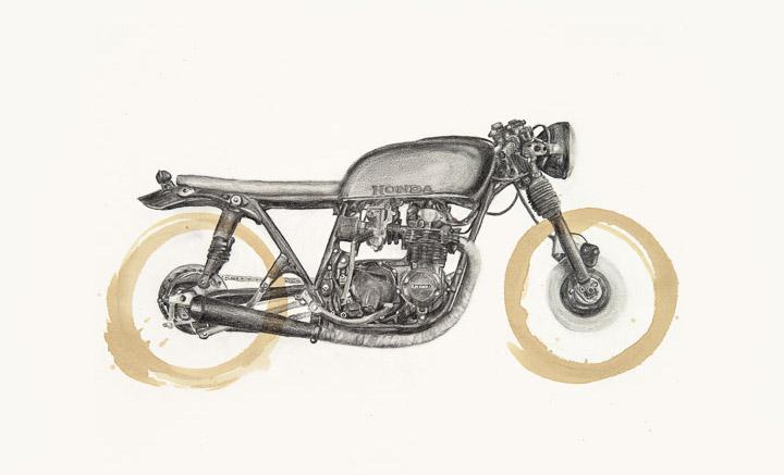 Honda CB550 by Carter Asmann