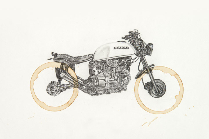 Honda CX500 by Carter Asmann