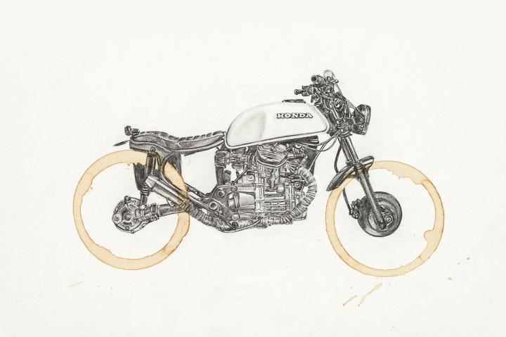 Honda CX500 by Carter Asmann