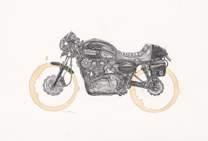 Triumph Thruxton by Carter Asmann