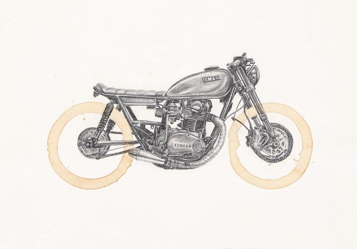 Yamaha XS650 by Carter Asmann