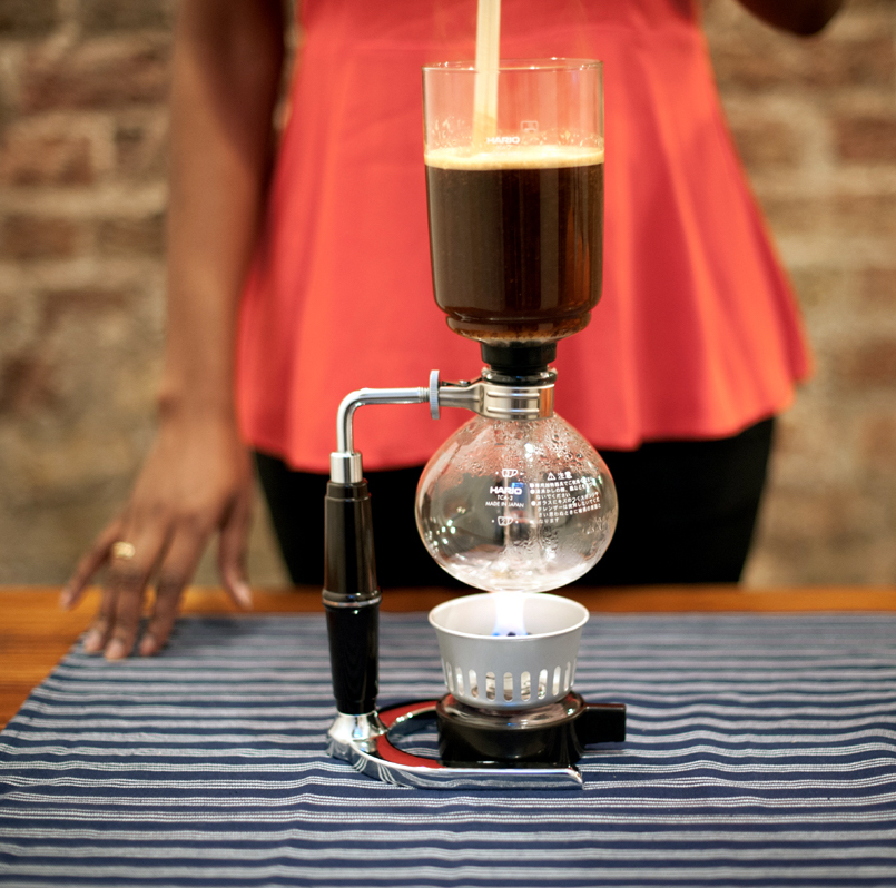 Syphon brewing