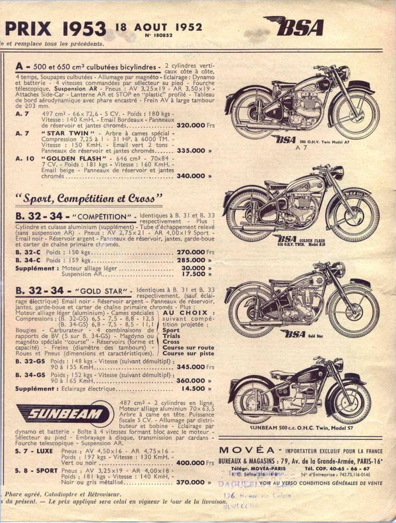 bsa 1953