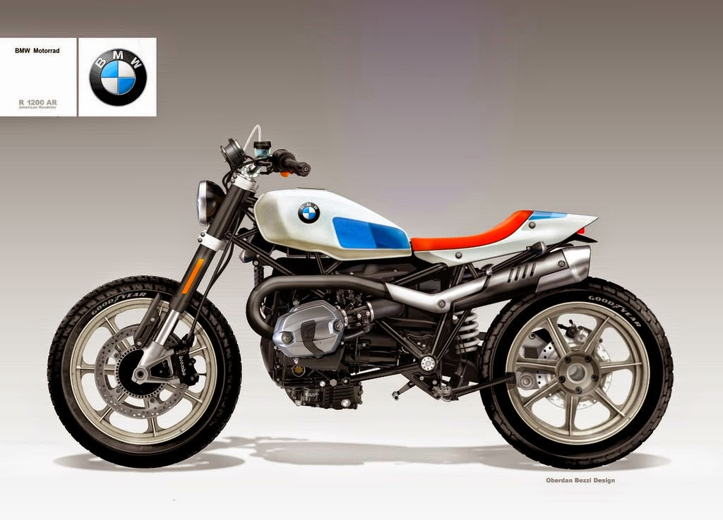 BMW R1200 American Roadster by Bezzi