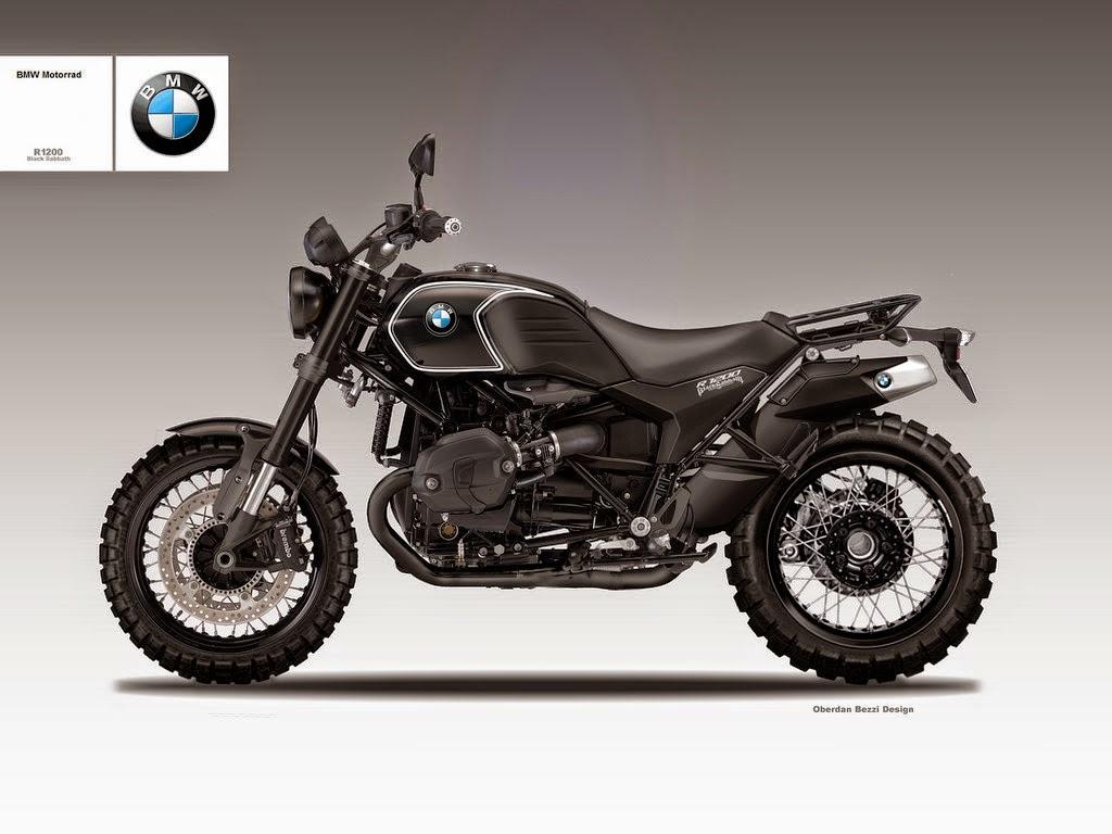 BMW R1200 Black Sabbath by Bezzi