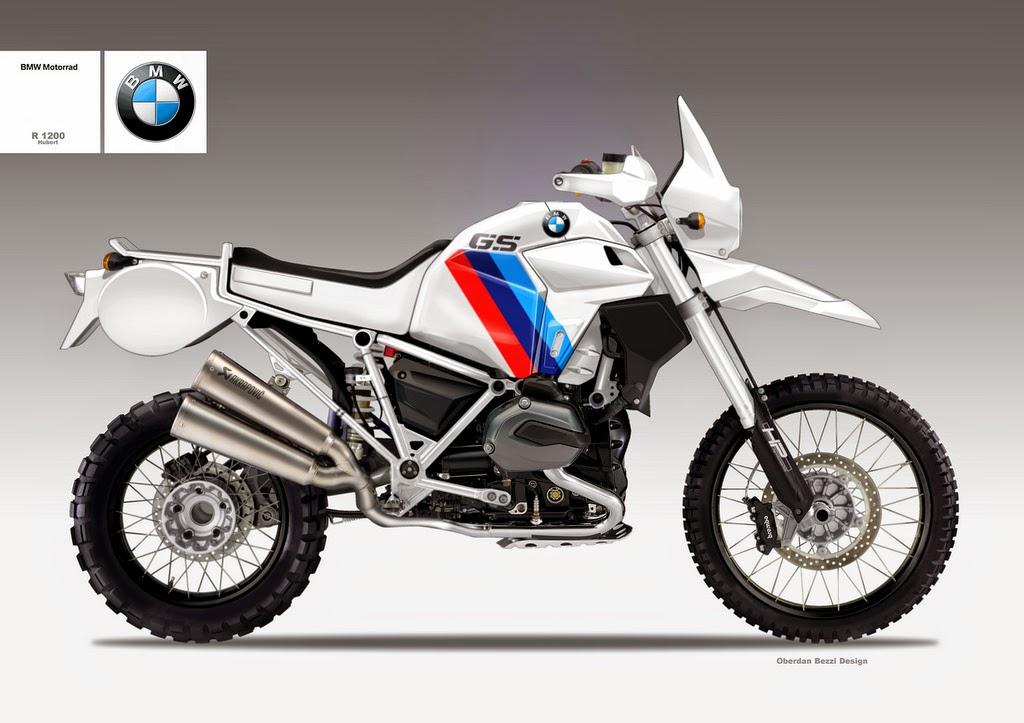 BMW R1200 Hubert Concept by Bezzi