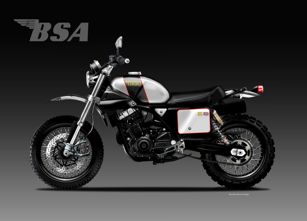 BSA NX 355 by Bezzi