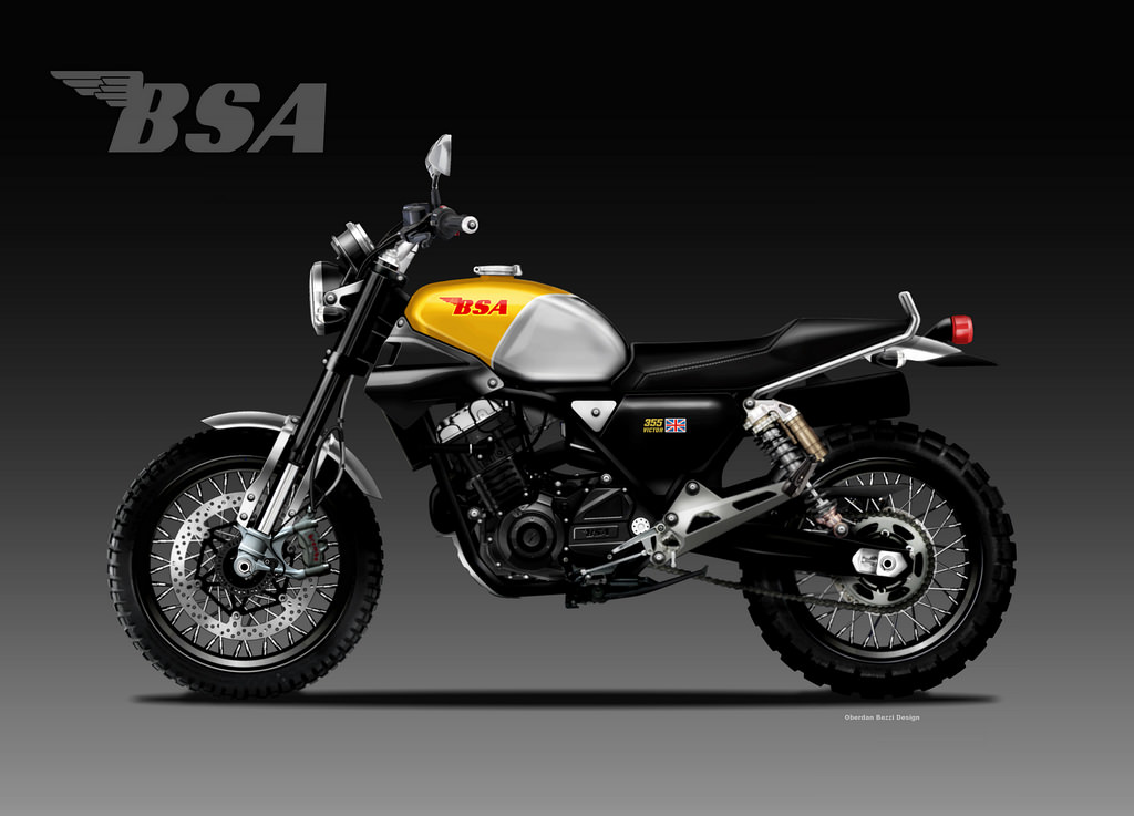 BSA Victor 355 by Bezzi