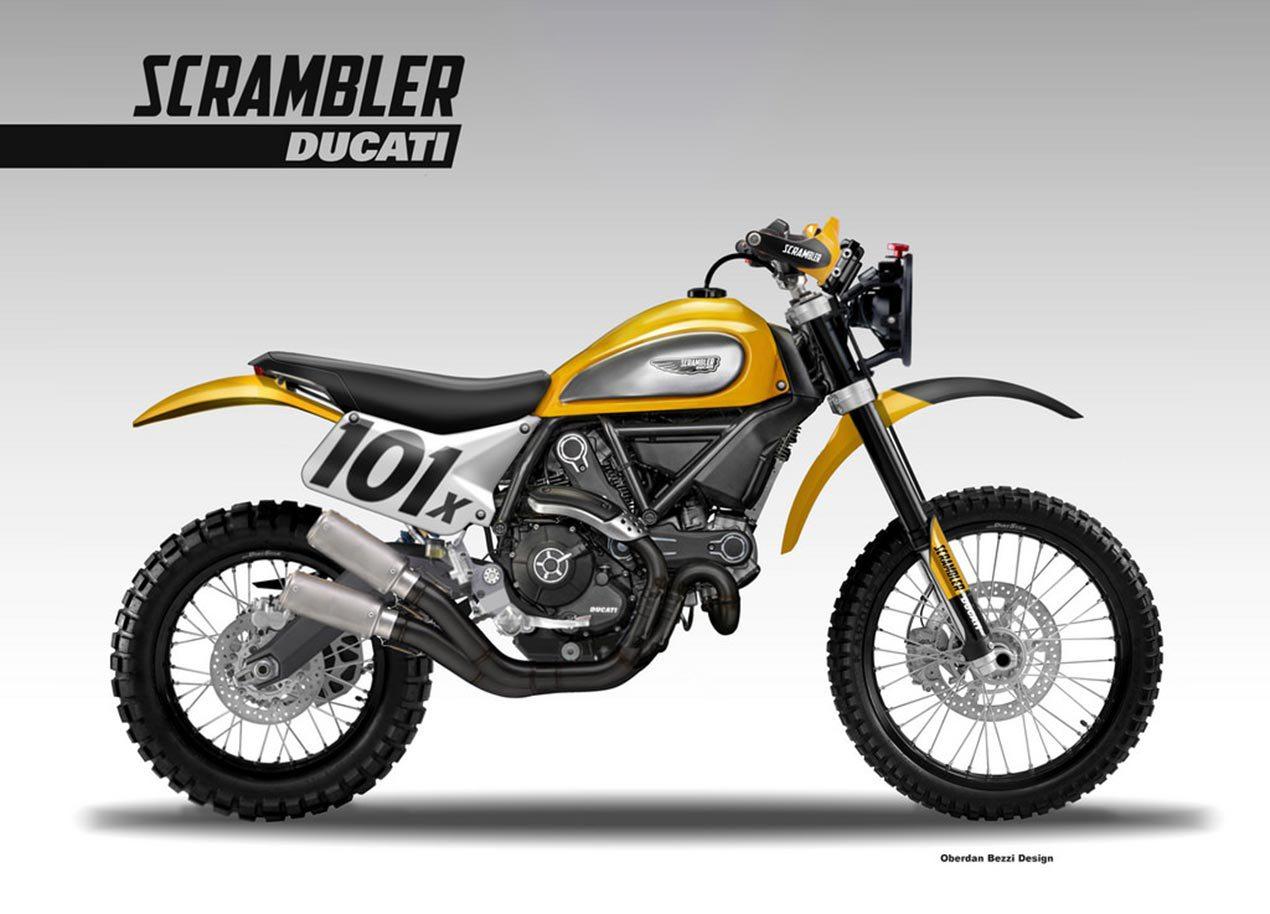 Ducati Scrambler Baja Racer by Bezzi