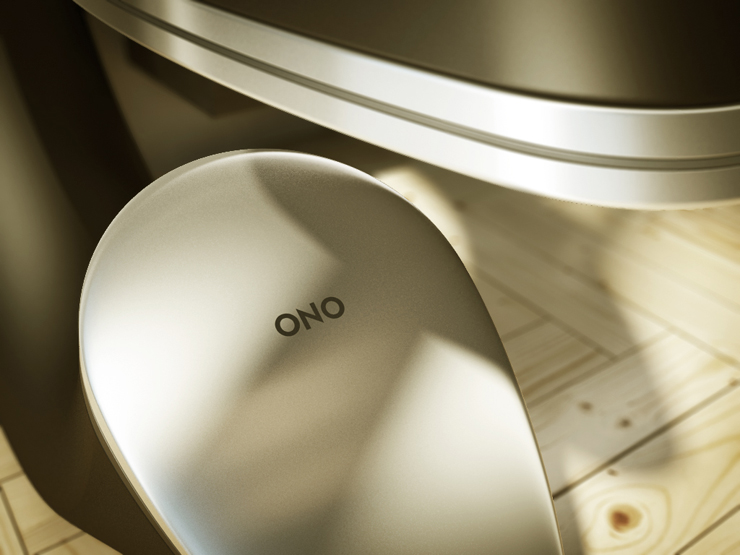 ONO Loudspeaker concept by Oravecz András