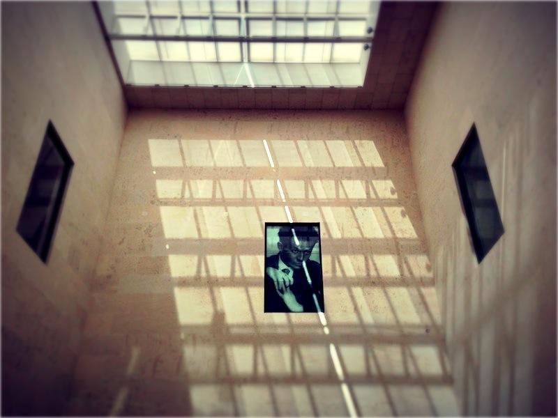 Egon Schiele a magasban.