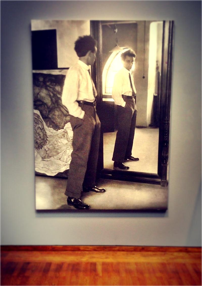 Egon Schiele a tükörben.