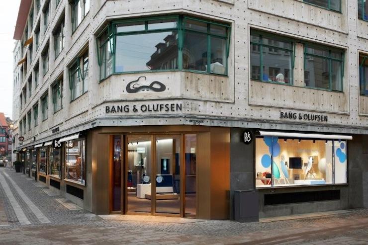 Bang & Olufsen koncepció üzlet 2013
