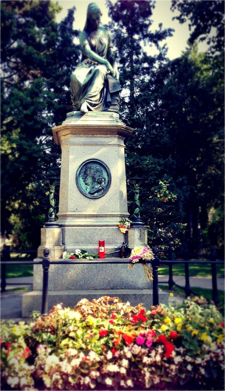 W.A. Mozart síremléke.