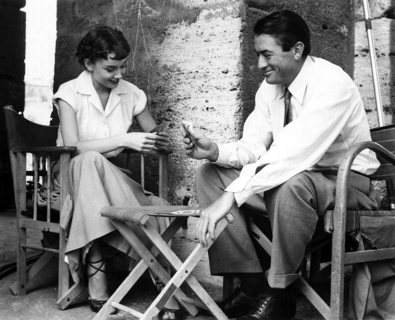 Audrey Hepburn és Gregory Peck