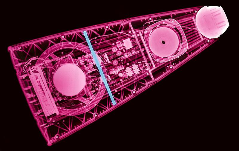 """BeoLab 9 - """"kutyacsont"""" jól látható a röntgen felvételen"""