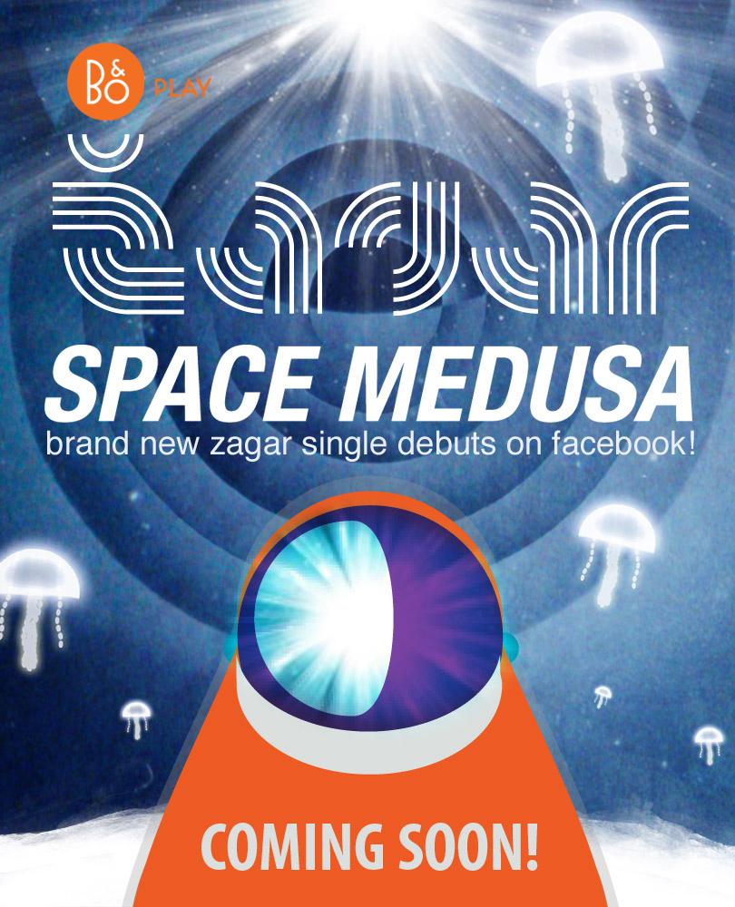 Zagar Space Medusa single - coming soon