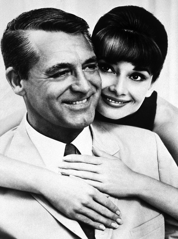 Cary Grant mondta és Audrey Hepburn