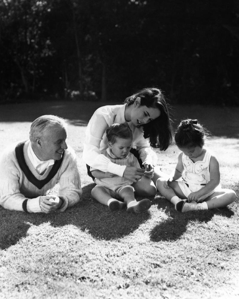 Charlie Chaplin és negyedik felesége Oona O'Neill